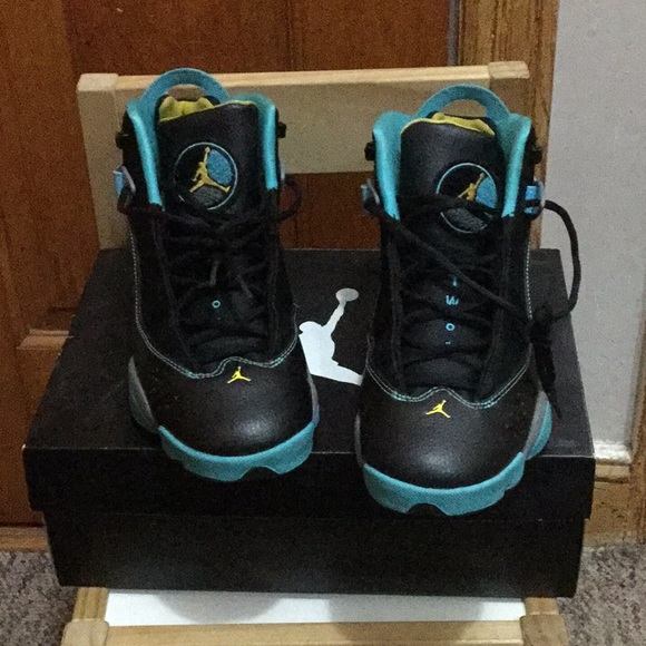 09b6a48e7f600a Air Jordan Other - Nike Air Jordan 6 rings gamma blue